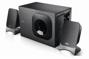 M1370 2.1ch black multimedia speakers
