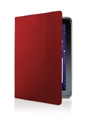 """CUSHTOP CASE FOR GALAXY NOTE 2 10.1"""" RED"""