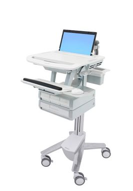 styleview laptop cart 4 drawers