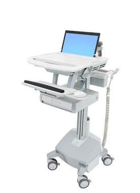 styleview cart laptop 1 drawer
