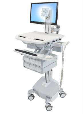 STYLEVIEW CART WITH LCD PIVOT LIFE POWERED 6 DRAWERS EU SAU-EU
