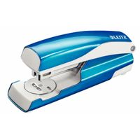 Leitz stapler 5502 WOW 30 sheets blue metal - blister