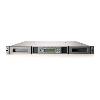No LTO Drive HP StorageWorks MSL2024 with Left and Right Magazines