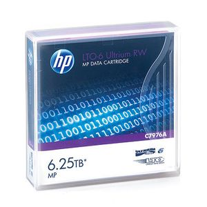 Hewlett Packard Enterprise LTO-6 Ultrium 6.25TB MP RW Data Cartridge (C7976A)