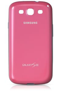 SAMSUNG Galaxy S III - Protective Cover +  -  Pi (EFC-1G6BPECSTD)