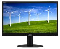 PHILIPS 22IN LED 1680X1050 16:10 5MS 220B4LPYCB D-PORT VGA DVI-D BLAC IN