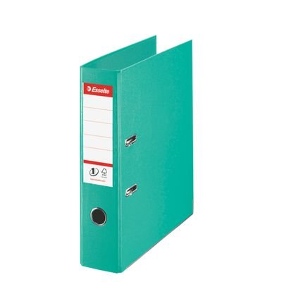 LEVER ARCH FILE ESSELTE A4 PP 75MM LIGHT GREEN