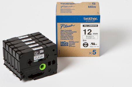 BROTHER HG-Multipack HGE131V5 8m 12mm laminiert (HGE131V5)