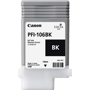CANON, INK TANK, BLACK PFI-106BK