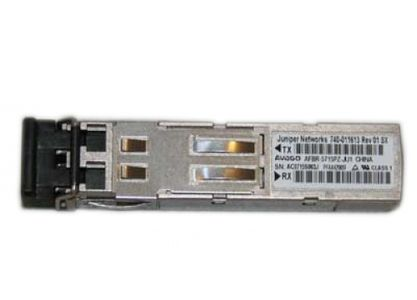 JUNIPER SFP 1000Base-SX Gigabit Ethernet Optics, 850nm for upto 550m transmission on MMF (EX-SFP-1GE-SX)