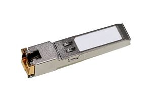 JUNIPER SFP 1000Base-T 10/ 100/ 1000 Copper Transceiver Module for up to 100m transmission on Cat5 (EX-SFP-1GE-T)