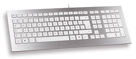 TAS STRAIT Corded Keyboard weiß/ silber SPAIN