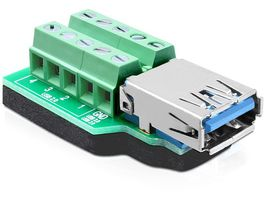 Adapter Terminalblock 10pin -> USB3.0 Bu