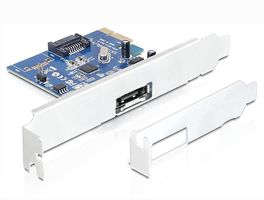 PCI Expr Card 1x SATA III 6Gb/s ext + 1x SA