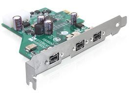 PCI Expr Card 3x FireWire800 ext