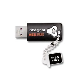 4GB Crypto 140-2 USB Stick 256-bit AES Black PC