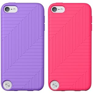 Flex Case iPod touch 5GSilicon,  Topcoat gloss, Volta/ Dayglow