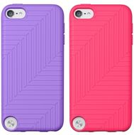 Flex Case iPod touch 5G Silicon,  Topcoat gloss, Volta/ Dayglow