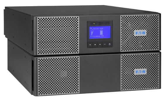 """9PX 8000i On-Line 6U 19"""" Rack / Tower UPS with Bypass Switch & Network MS SNMP/ Ethernet adapter & Rackmount kit  230 V 8000 VA / 7200 W 5 min (20 min @50%). Input hardwired 230 V AC.  Output: 4x"""