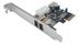 ST LAB IO FireWire a PCIe 2 port IEEE1394aw/ Cable, TEX