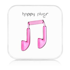 HAPPY PLUGS - Headset ( ear-bud - rosa