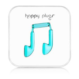 HAPPY PLUGS - Headset ( ear-bud - turkis