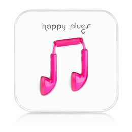 HAPPY PLUGS - Headset ( ear-bud - cerise