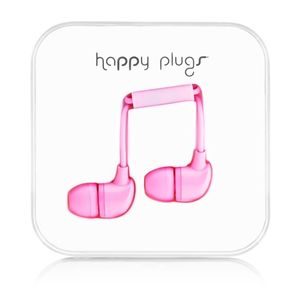HAPPY PLUGS In-Ear Pink m/mic 3,5mm