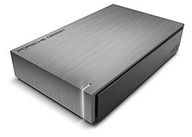 Porsche Design Desktop P'9230 4TB Ultra-fast USB 3.0 performance,  Solid aluminum casing