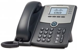 CISCO IP Phone/ 4Line w/PoE and PC Port, RC (SPA504G-RC)