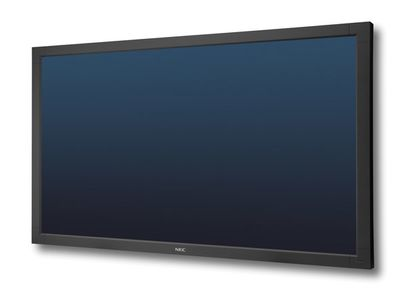 NEC V652 professional public display LCD with edge LED backlight 1920x1080 450cd/m2 STv2 LAN w/SNMP RS-232 DVI daisy chain (60003395)
