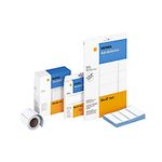 Address label roll Herma, 250 labels, 70mm x 38mm, for typerwriters or labelling by hand, 4340