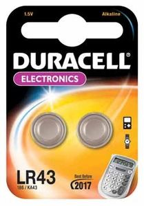 DURACELL Coin Cell LR43 (10x2 Packs) (LR43)