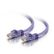C2G Cbl/0.5M Purple CAT6 PVC Snagless UTP