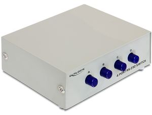 DELOCK RS-232 Switch 4 Eingänge