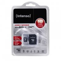 Memory card SD-Micro 16GB Intenso C10