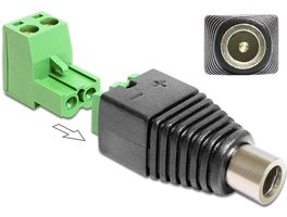 Adapter Terminalblock 2pin -> DC 2,5 x 5,5m