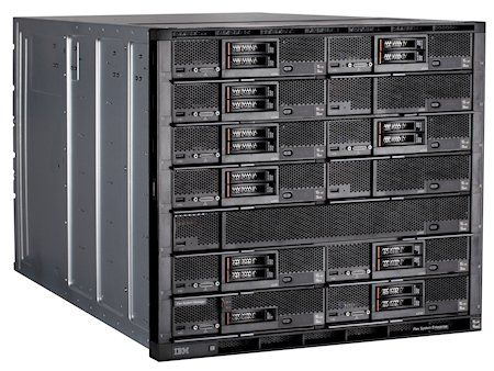Express Flex System Enterprise Chassis with 2x2500W PSU. Rackable