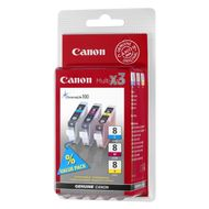 CANON BJ Cartridge CLI-8 C/M/Y Multi pack SEC (0621B036)