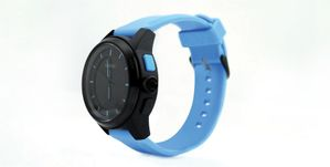 BT Smart Watch Black/ Blue
