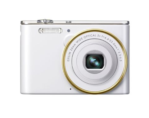 EXILIM STYLE EX-JE10 MINI WHITE 16.1MP 5X OPT. ZOOM 6.9CM TFT    IN CAM