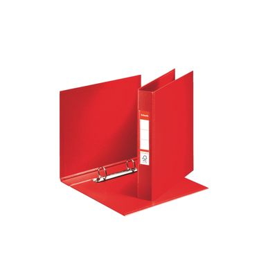 RINGBINDER ESSELTE VIVIDA STANDARD A5 2RINGS RED