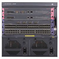 7503 Switch with 48-port Gig-T PoE+ Module and 384Gbps MPU with 2 XFP ports