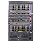 Hewlett Packard Enterprise 7510 Switch with 2 48-port Gig-T PoE+ Modules and 768Gbps MPU