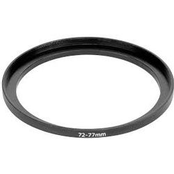 Set Up Filter-Adapter Lens 72 to 77 mm