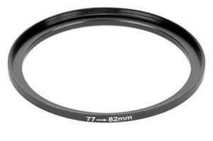 Set Up Filter-Adapter Lens 77 to 82 mm
