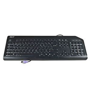 ACER KEYBD.PS2.SWE.105K.BLK.WO/ EKEY (KB.PS203.298)