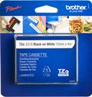 BROTHER TZE231S 12 BLACK ON WHITE