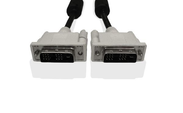 DVI-D TO DVI-D CABLE DVI-D GRAPHIC CABLE CONNECTS SYSTEM