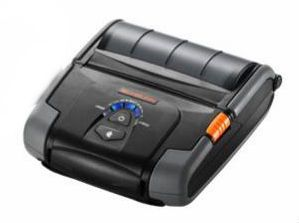 BIXOLON 4INCH MOBILE RECEIPT PRINTER, DT SERIAL, USB, BT IOS, MSR3        IN PRNT (SPP-R400IKM/BEG)